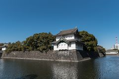 Tokyo Imperial Palace in Tokyo, Japan. Located in Chiyoda ward of Tokyoa royalty free stock image