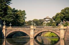 Tokyo imperialistisk slott Fotografering för Bildbyråer