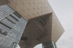 Tokyo International Exhibition Center Tokyo Big Sight, Ariake royalty free stock photos