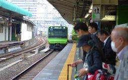 Tokyo järnvägsstation, Japan Arkivfoton