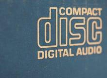 TOKYO - JAN 2020: Compact disc digital audio logo