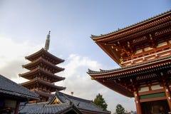 TOKYO, JAPAN,The Buddhist Temple Senso-ji is the symbol of Asakusa Royalty Free Stock Images
