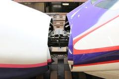 TOKYO JAPAN —mars 10,2016: Shinkansen Arkivfoton