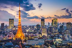 Tokyo Japan Stockfotos