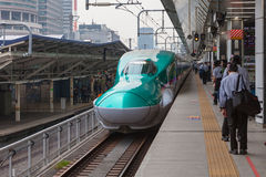 Tokyo,Japan - April 1,2015 : The E5 Series Hayabusa Royalty Free Stock Images