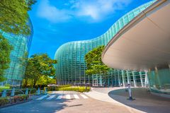 The National Art Center in Roppongi, Tokyo, Japan. Tokyo, Japan - April 26 2018: The national Art Center in Roppongi - an art museum displays contempory art stock images