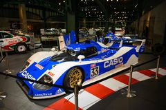 Tokyo, Japan - April 2, 2015 : Toyota TS010 was a Group C royalty free stock images