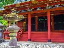 Tokyo, Japan - Augustus 24, 2017: De mooie mening van Grote Gomado van Rinno ji, Nikko, Rinno ji is een complex van Boeddhistisch Stock Foto