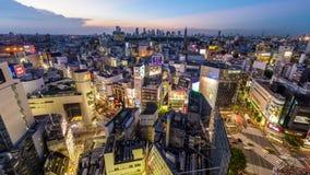 Tokyo Japan bei Shibuya stock footage