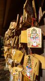TOKYO, JAPAN BIJ GOTOKUJI-TEMPEL Stock Foto