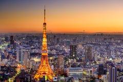 Tokyo, Japan Cityscape Stock Photos