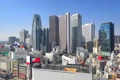 Tokyo, Japan Cityscape in Shinjuku stock images