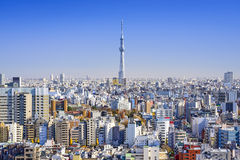 Tokyo, Japan Cityscape View Royalty Free Stock Images