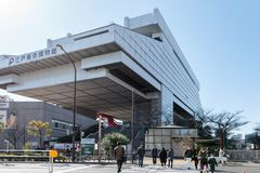 TOKYO, JAPAN - 18. FEBRUAR 2018: Nationalmuseum der moderner Kunst in Tokyo, Japan lizenzfreie stockfotografie