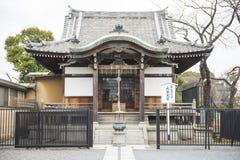 TOKYO JAPAN - FEBRUARI 23, 2016: Benten Hall Temple royaltyfri bild