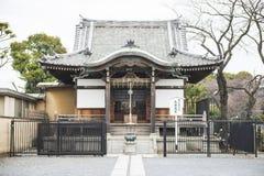 TOKYO, JAPAN - FEBRUARY 23, 2016: Benten Hall Temple Stock Photography