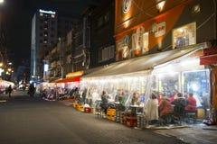 TOKYO, JAPAN - FEBRUARY 17, 2016 : Japanese restaurant make plas Royalty Free Stock Photography