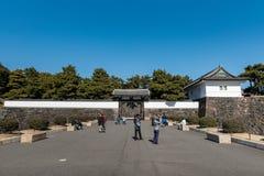 TOKYO, JAPAN - FEBRUARY 18, 2018: Tokyo park in Chiyoda, Tokyo, Japan. royalty free stock photography