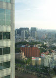 Tokyo Japan horisont arkivbild