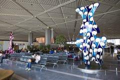 Tokyo, Japan, the Interior of Narita international airport. royalty free stock photography