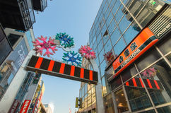 Tokyo, Japan - January 26, 2016: Takeshita Street in Harajuku , Royalty Free Stock Photography