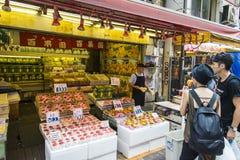 TOKYO, JAPAN - JULY 26 Ameyayokocho shopping street on July 26, Royalty Free Stock Image