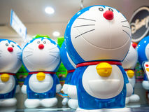 TOKYO, JAPAN JUNE 28 - 2017: Close up of assorted doraemon toy, located in a toy center in Tokyo Stock Images