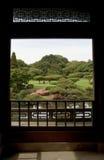 Tokyo Japan, Juni 07, 2012: shinjukuen gyoen medborgareträdgården Royaltyfria Foton
