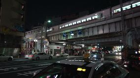 Tokyo, Japan - 20. Juni 2018: Tourist, der um Ueno-Station geht stock footage
