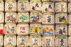 TOKYO, JAPAN - MAART 30: Een inzameling van Japanse belangenvaten s Royalty-vrije Stock Foto's
