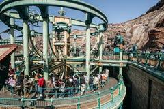 TOKYO, JAPAN - MAART 21: Tokyo Disneyland is een 115 acre (465.000 Royalty-vrije Stock Fotografie