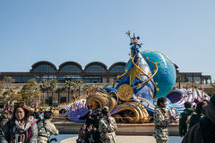 TOKYO, JAPAN - MARCH 21: Tokyo Disneyland is a 115-acre (465,000 Royalty Free Stock Photography