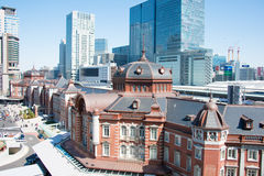 TOKYO, JAPAN - March 7,2014: Tokyo Station.  Stock Photography