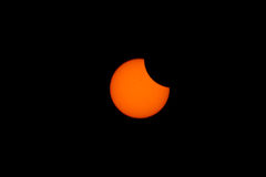 Tokyo, Japan - May 21: Annular eclipse Royalty Free Stock Photos