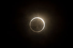 Tokyo, Japan - May 21: Annular eclipse Stock Photos