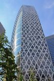 Tokyo. JAPAN - MAY 11, 2012: Mode Gakuen Cocoon Tower in . It is one of most recognized skyscrapers in the world with Emporis Skyscraper Award (Gold) for 2008 Stock Images