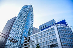 TOKYO, JAPAN: Modern corporate and business buildings in Tokyo. Modern corporate and business buildings in Tokyo Stock Photos