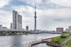 TOKYO,JAPAN - MAY 25 ,2013 : The Tokyo Skytree is a new televisi Stock Photography