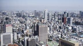 Tokyo, Japan. Tokyo modern city centre, aerial view stock photo