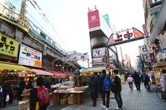 TOKYO, JAPAN - NOV 22 : Ameyoko market Stock Images