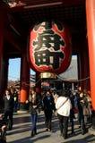 TOKYO, JAPAN - 21 NOV.: Het opleggen van Boeddhistische structuur stock fotografie