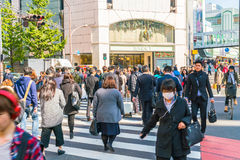 TOKYO ,JAPAN - 2016 Nov 17 : Shinjuku is one of Tokyo's busine. Ss districts with many international corporate headquarters located here. It is also a famous stock photos