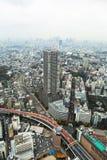 Aerial view for Tokyo metropolis Stock Image