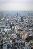 Aerial view for Tokyo metropolis Stock Photo