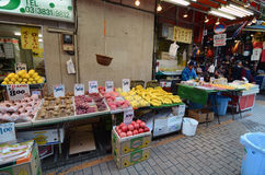TOKYO, JAPAN- NOVEMBER 22, 2013: Ameyoko is market street,which Royalty Free Stock Image