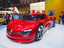 TOKYO, JAPAN - November 23, 2013: Booth at Renault Stock Image