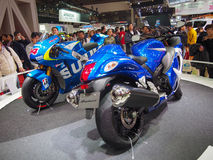 TOKYO, JAPAN - November 23, 2013: Booth at Suzuki Motor Stock Photography