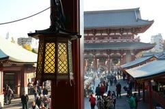 TOKYO, JAPAN - NOVEMBER 21: The Buddhist Temple Senso-ji in Asakusa district Stock Photos