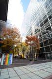 Tokyo, Japan - November 26, 2013: Buitenkant van het Internationale Forum van Tokyo Royalty-vrije Stock Afbeeldingen