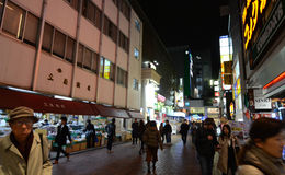 Tokyo, Japan - November 25, 2013: commercial street in the Kichijoji district Stock Image
